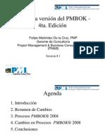 PMBOK - 4taEdición