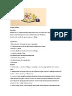 Frango Desfiado e Wrap - Receitas