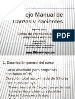 Manejo Manual de Pacientes (Manual Patient Handling)