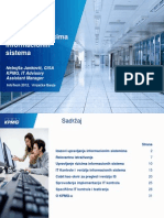IT Kontrole i Upravljanje Rizicima Informacionih Sistema