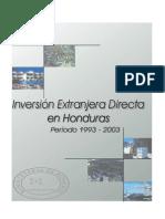 Inversion Extranjera Directa 1993-2003