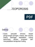 Peyuluhan Osteoporosis
