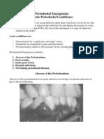 Periodontal Emergencies.docx