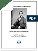 Lincoln Bicentennial Resources