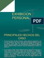 Exhibicion Personal