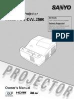 PDG-DWL2500 OM-25520225