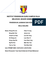 PJ Bola Baling课业