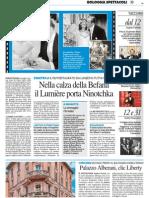 3.1.2014, 'Palazzo Alberani, Clic Liberty', Il Resto Del Carlino Bologna