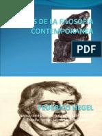 AUTORES DE LA FILOSOFÍA CONTEMPORANEA