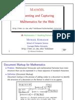 Mathml Tutorial