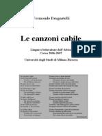 Brugnatelli 2006 Le Canzoni Cabile
