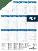 calendário-2013