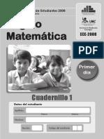 Examen Censal 2°grado