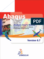 Abaqus Analysis Users Manual-Volume_5