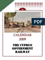 2009 Calendar - The Cyprus Government Railway (English)