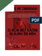 Da Se Ne Zaboravi Hrvatsko Etnicko Ciscenje Krajine