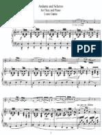 Ganne,L.andante Et Scherzo - Piano Score