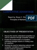 Marketing Competitive Advantage