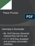wwi - peace process