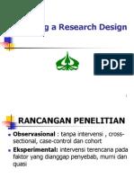 Design + Besar Sampel 23-10-2013
