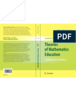 Theories of Mathematics Education - Cover
