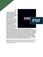 Justin Perich Reviews Beyonce