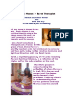 Manasi - Tarot Therapist