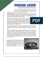 Cesis 2009 Team Report
