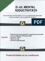 COD Productivitatii