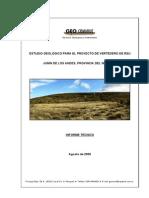 Informe Geologico Vertedero Junin