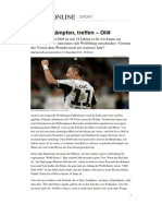 Fussball Ivica Olic Wolfsburg