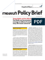 Young Adults and ACA
