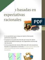 Teorías basadas en expectativas racionales