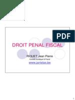 Droit Penal Fiscal