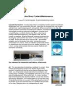Machine Shop Fluid Maintenance