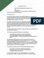 DEP Hearing Letter 12-9-13