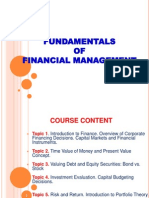 Fund.finance Lecture 1 Introduction 2011