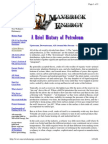 A Brief History of Petroleum