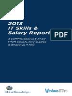 IT Skills & Salary Report_2013