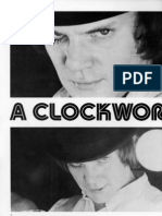 Mamber Clockwork Orange analysis