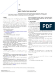 ASTM D913 - 10 Practice for Evaluation Degree of Traffic Paint Line Wear