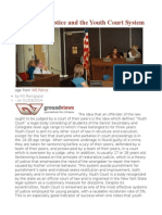 Restorative Justice and the Youth Court System