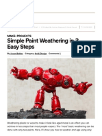 simple paint weathering in 3 easy steps   make