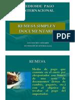 Remesa Simple Documentaria