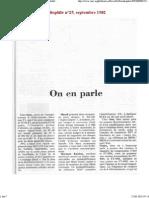 Nouveauté 1982, filtre et p...