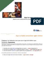 8-Espanol de Vzla-Fenomenos Con QUE