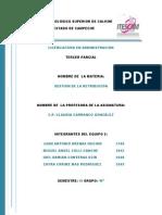 DOCUMENTAL CARRANCO 3° PARCIAL