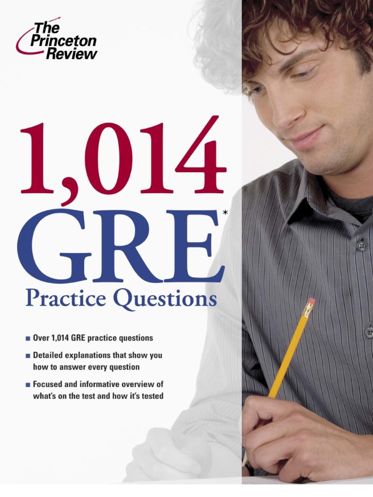 Questions pdf gre