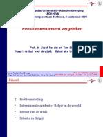 Pensioenrendement vergeleken, Prof. dr. Jozef Pacolet & Tom Strengs 20090908_JPacolet_TStrengs