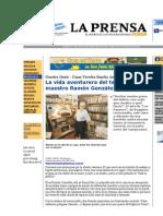 DOMINGO 7 DE JULIO DEL 2002 Tenor Nicaragüense Ramón Enrique González Gutiérrez